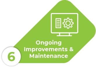 ongoing maintenance and improvements