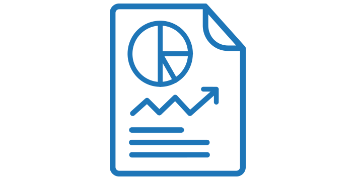 KPI Reporting and Strategy Sessions icon